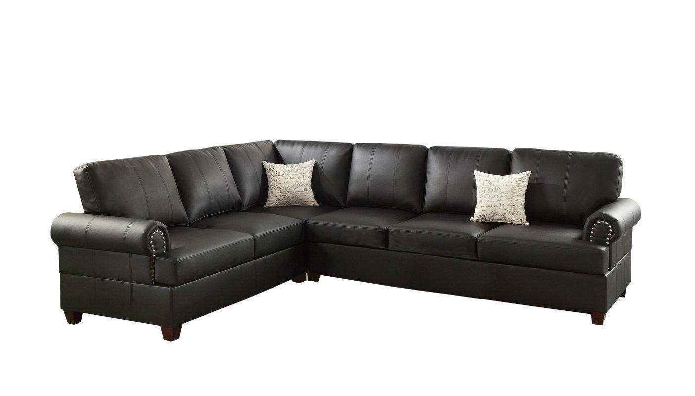 Poundex F7769 Bobkona Cady Bonded Leather - Home Furniture Design