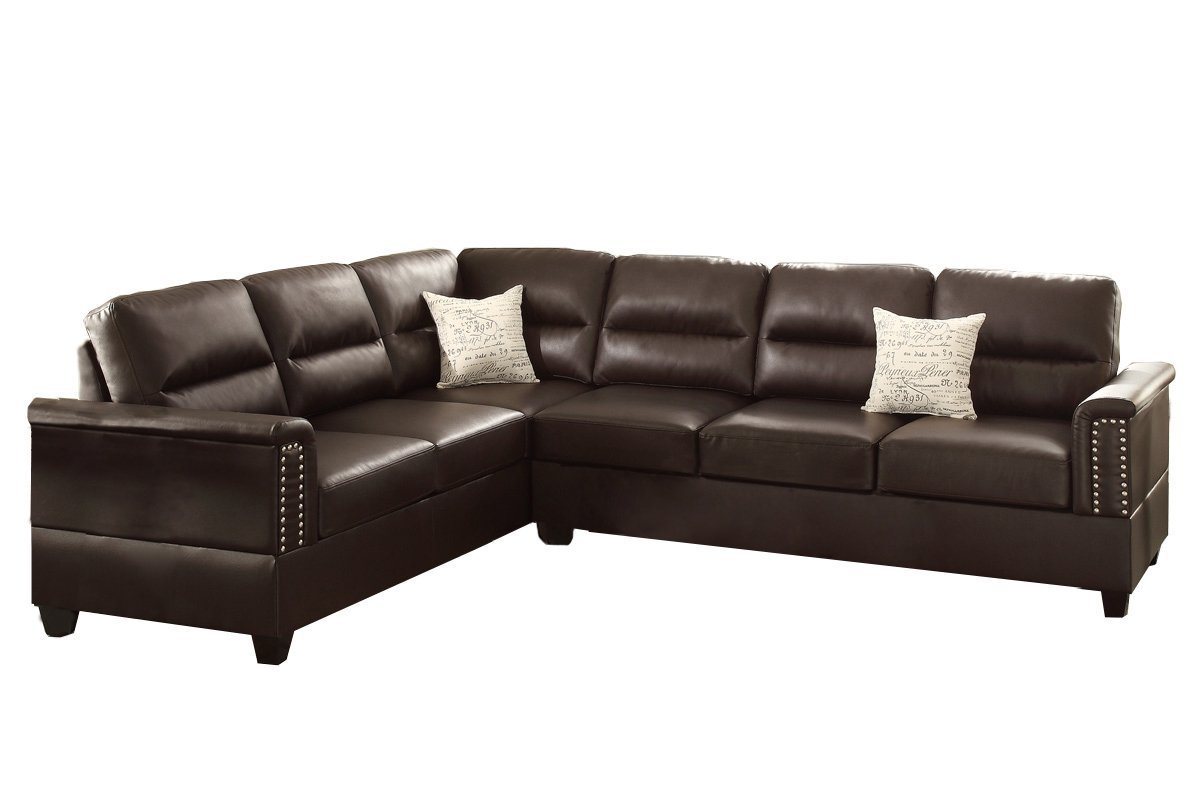 Poundex F7859 Bobkona Parrish Bonded Leather Home