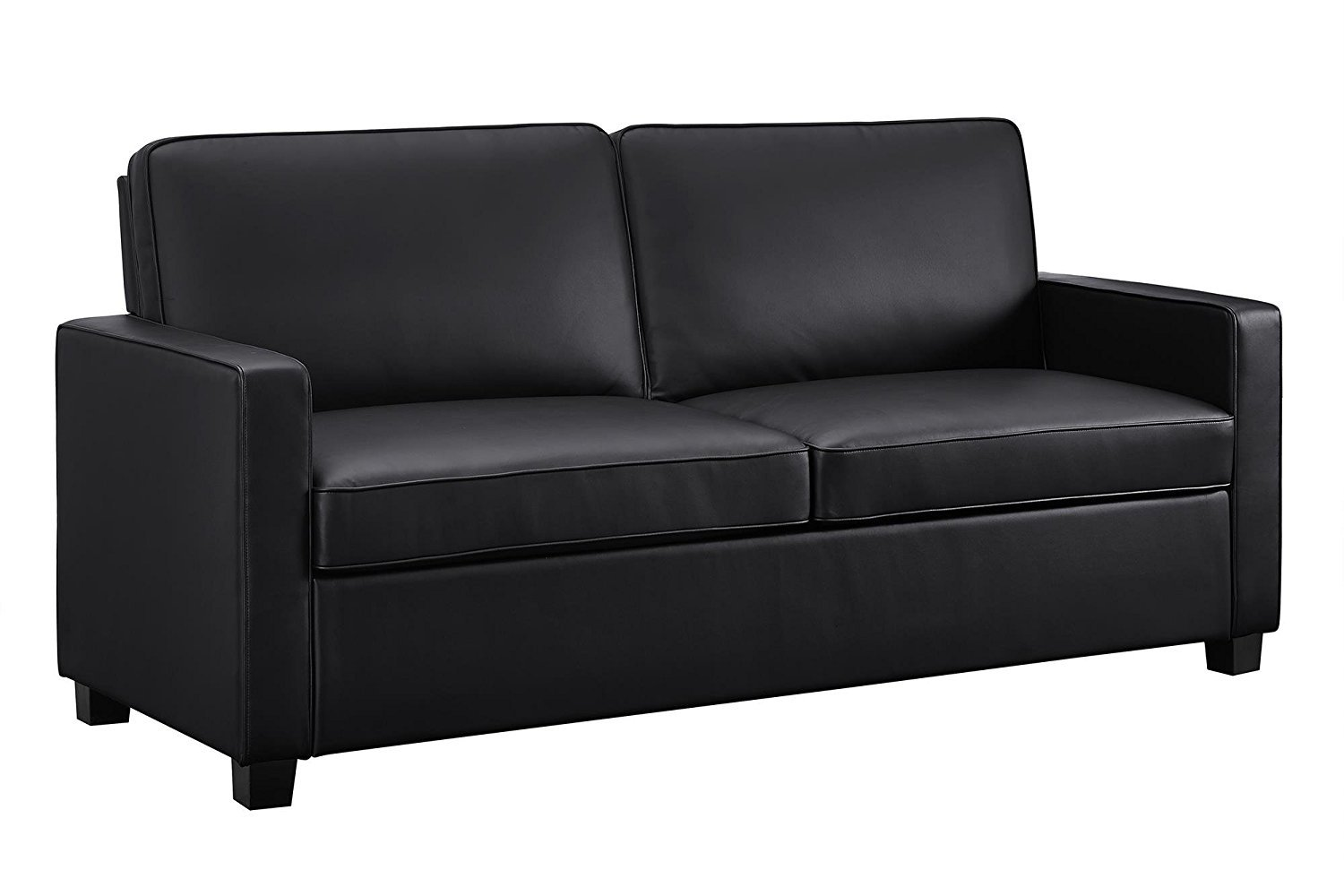 Modern Faux Leather Sofa Bed
