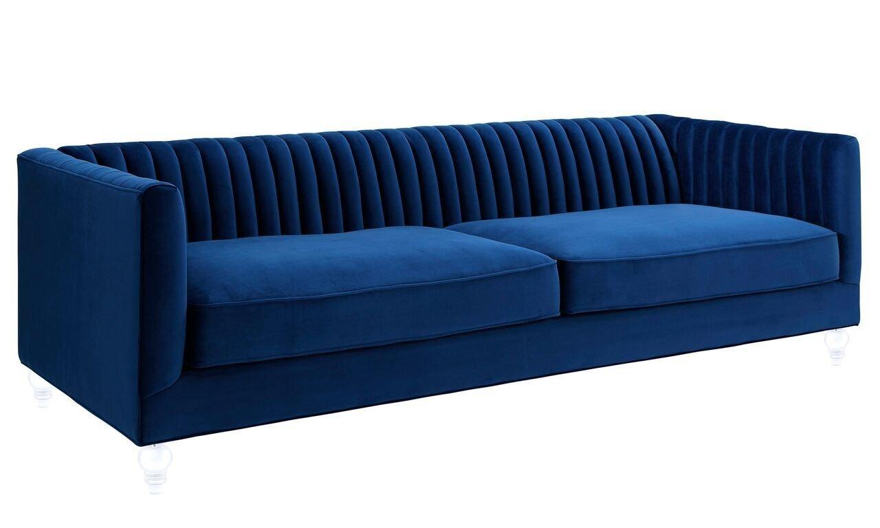 Madrid Taupe Beige Ultra Modern Living Room Furniture 3: TOV Furniture The Aviator Collection Modern Velvet