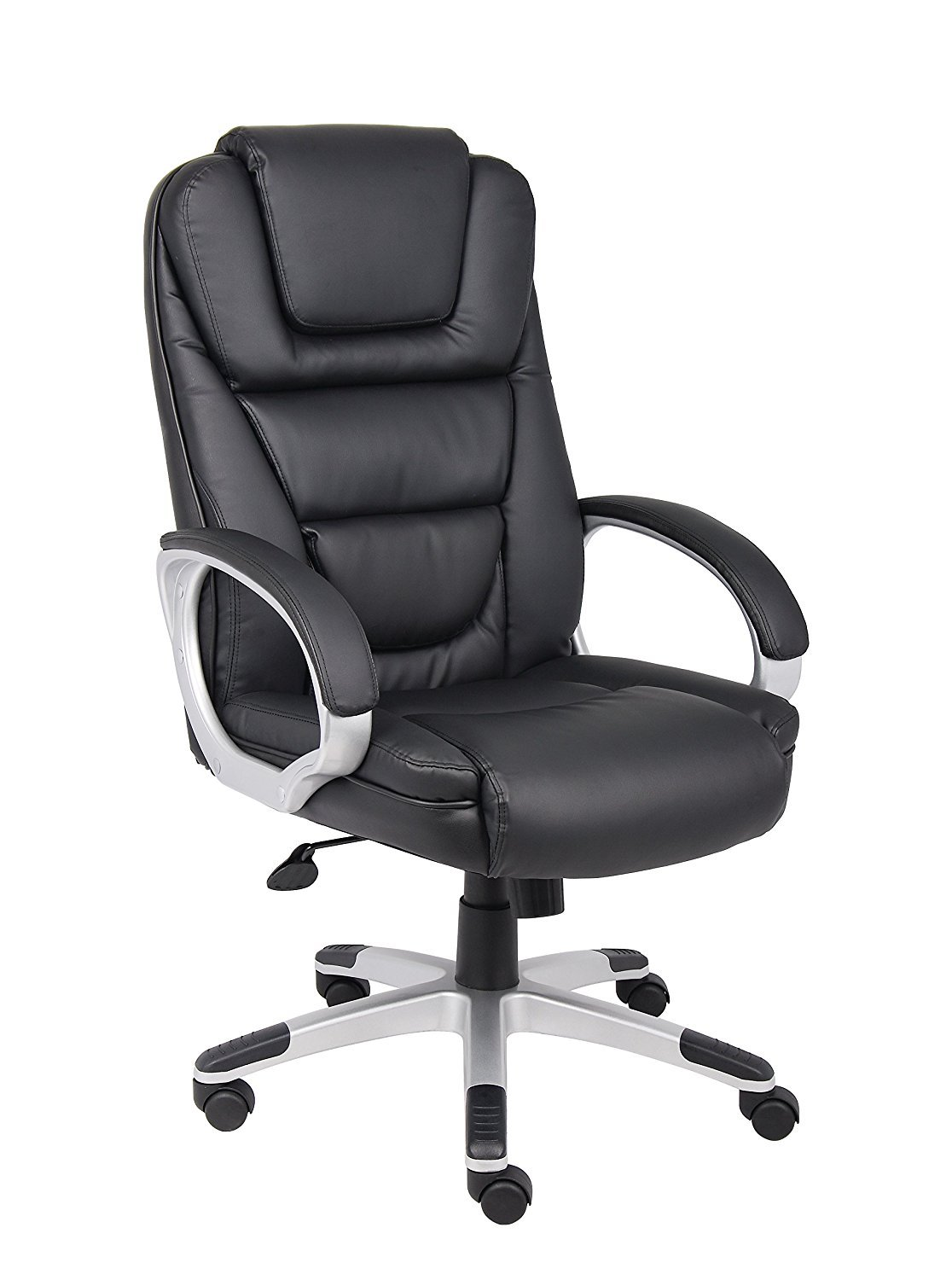 Boss Black Leatherplus Executive Chair Home Furniture Design