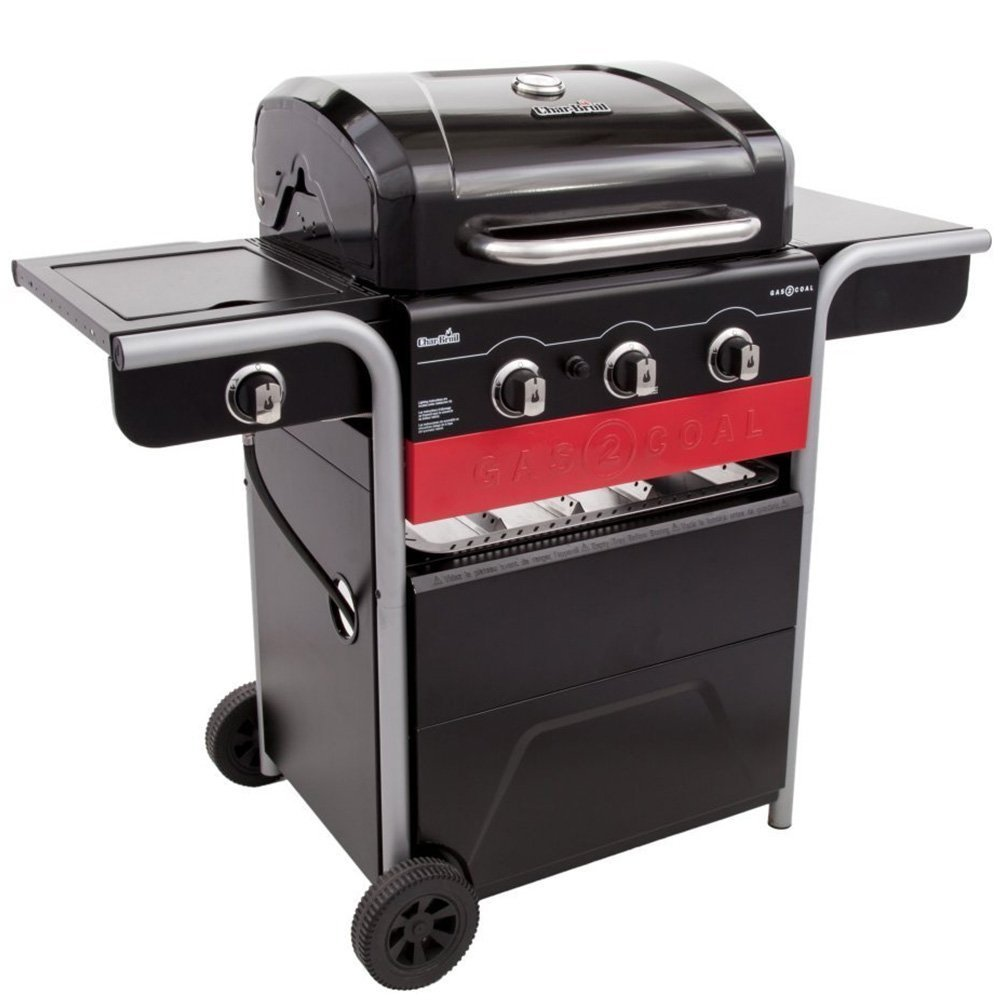 Propane and charcoal grill combo home furniture design