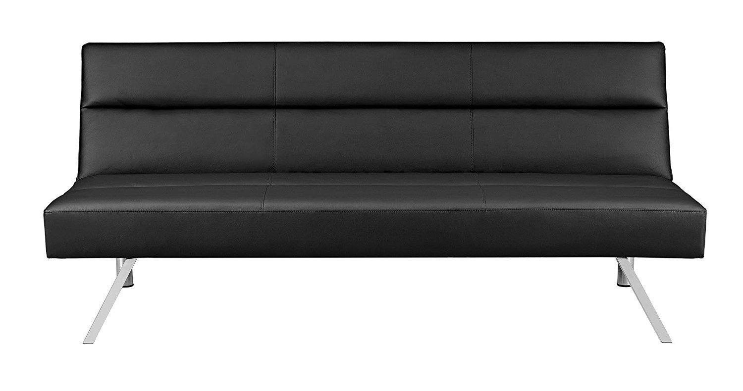 Leather Futon Couch Home Furniture Design