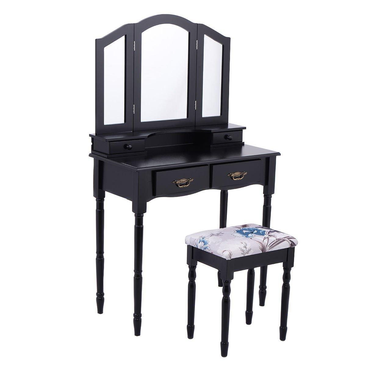 Modern makeup table home furniture design for Modern makeup vanity