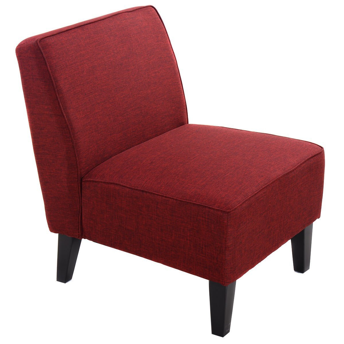 Red accent chairs for living room home furniture design for Occasional chairs for living room