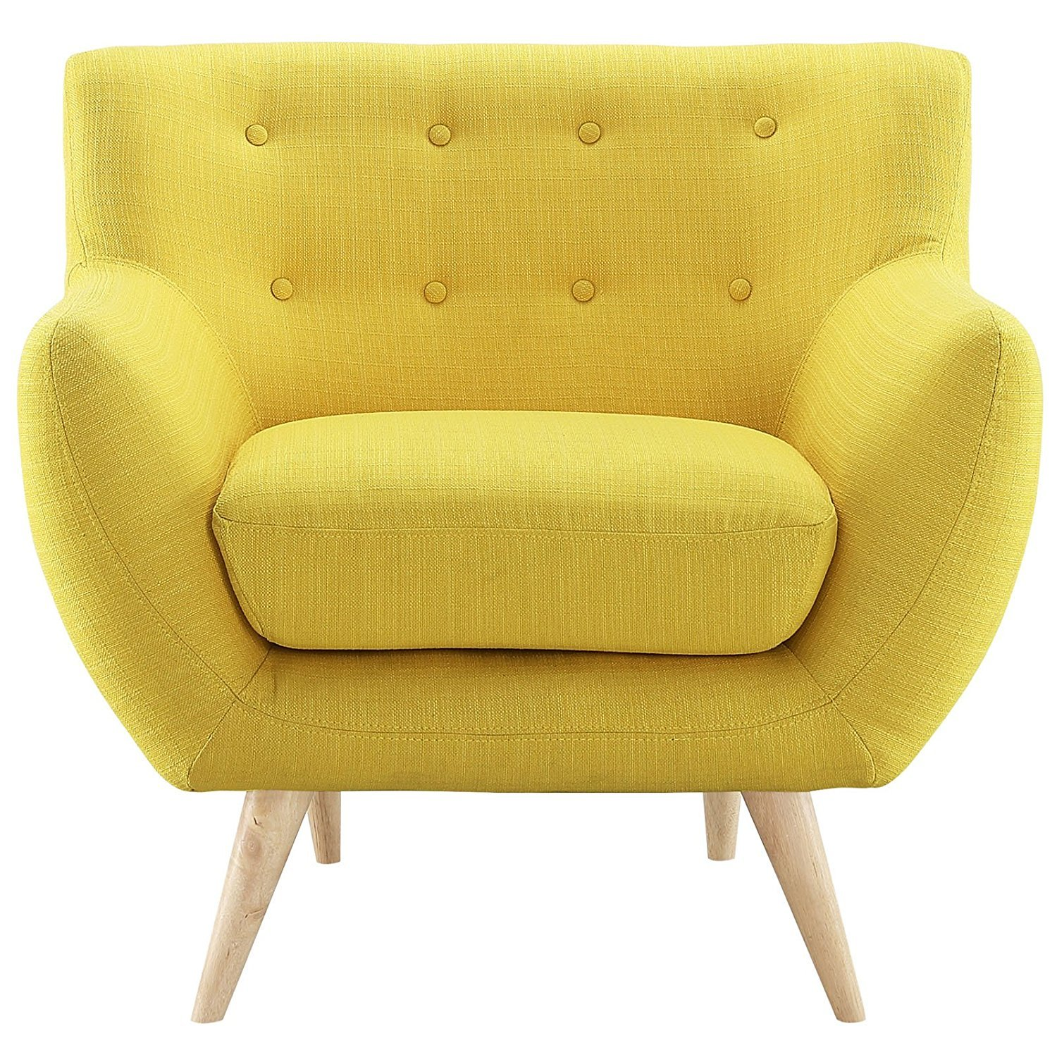 Yellow Living Room Chairs Home Furniture Design