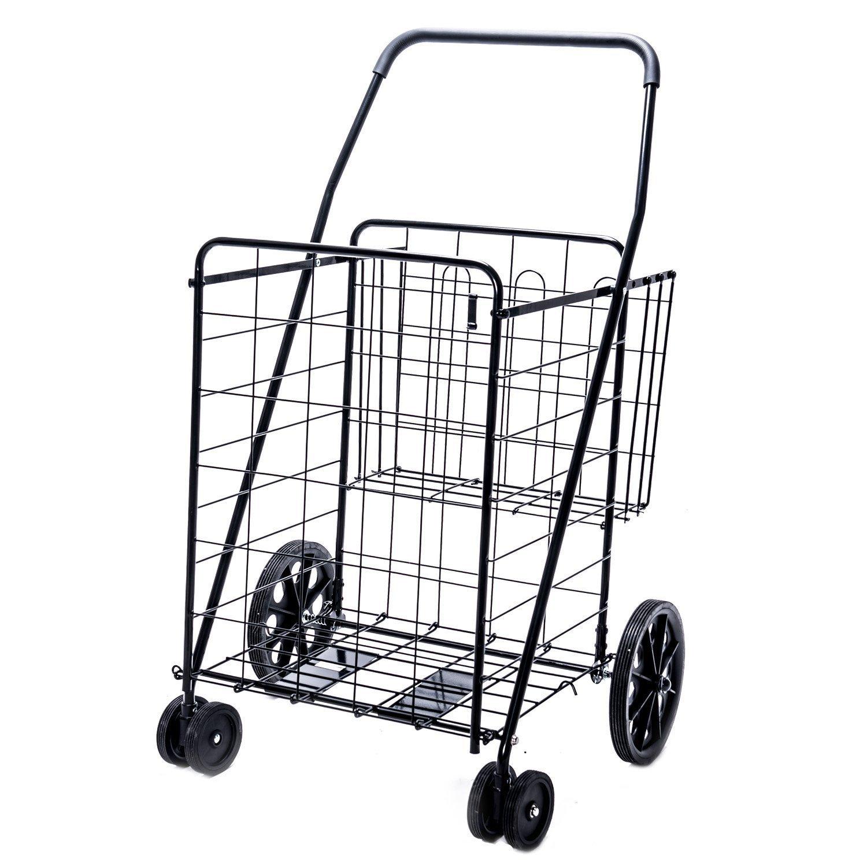 Jumbo Deluxe Folding Shopping Cart Home Furniture Design