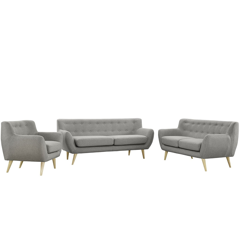Modway Remark Mid Century Modern Sofa Armchair Home