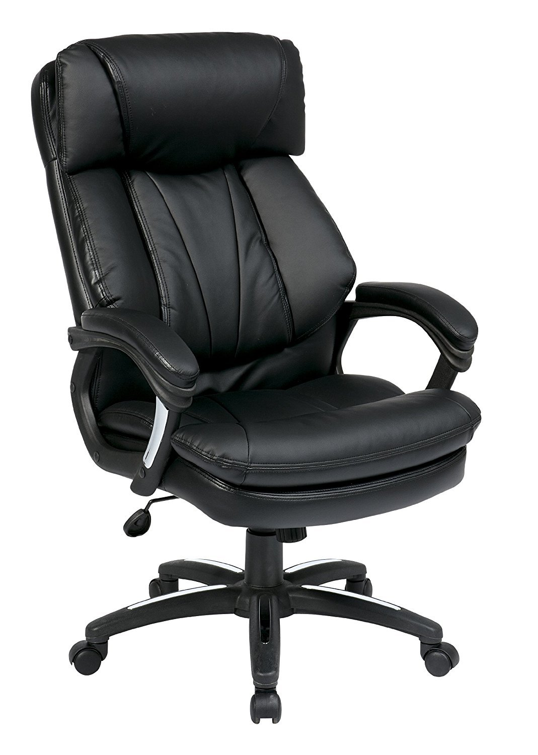 Office Star Oversized Faux Leather Executive Chair Home