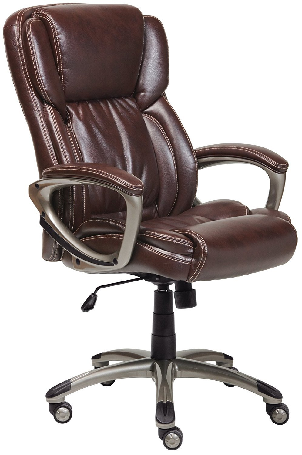 Serta Bonded Leather Executive Chair Home Furniture Design
