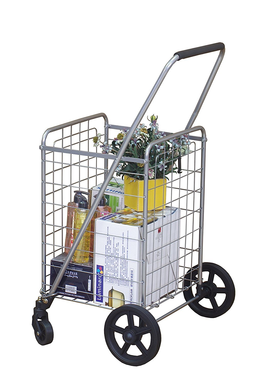 Wellmax Wm99024s Portable Folding Shopping Cart Home