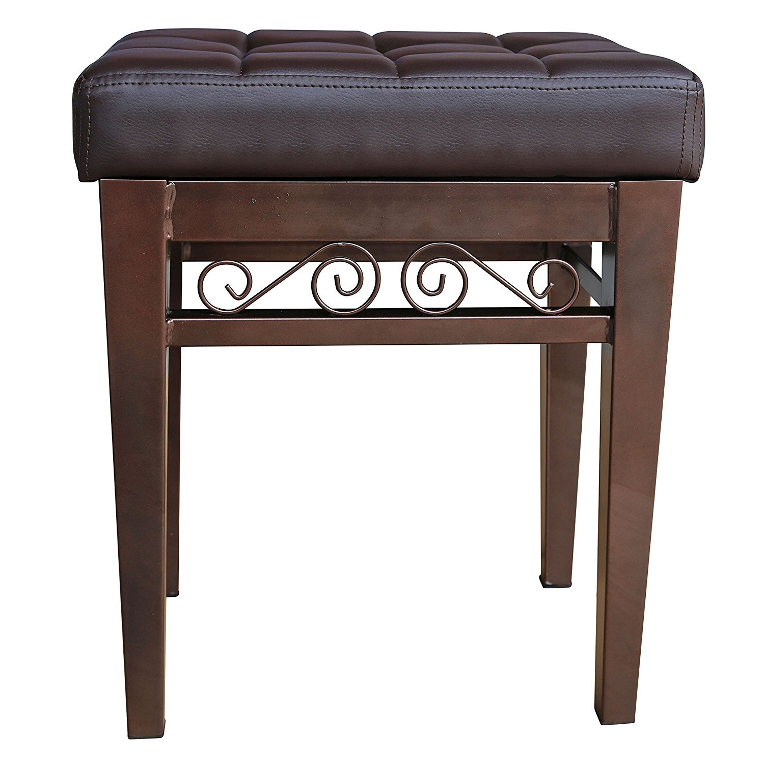 Crownroyaljack Furniture Square Piano Bench Home