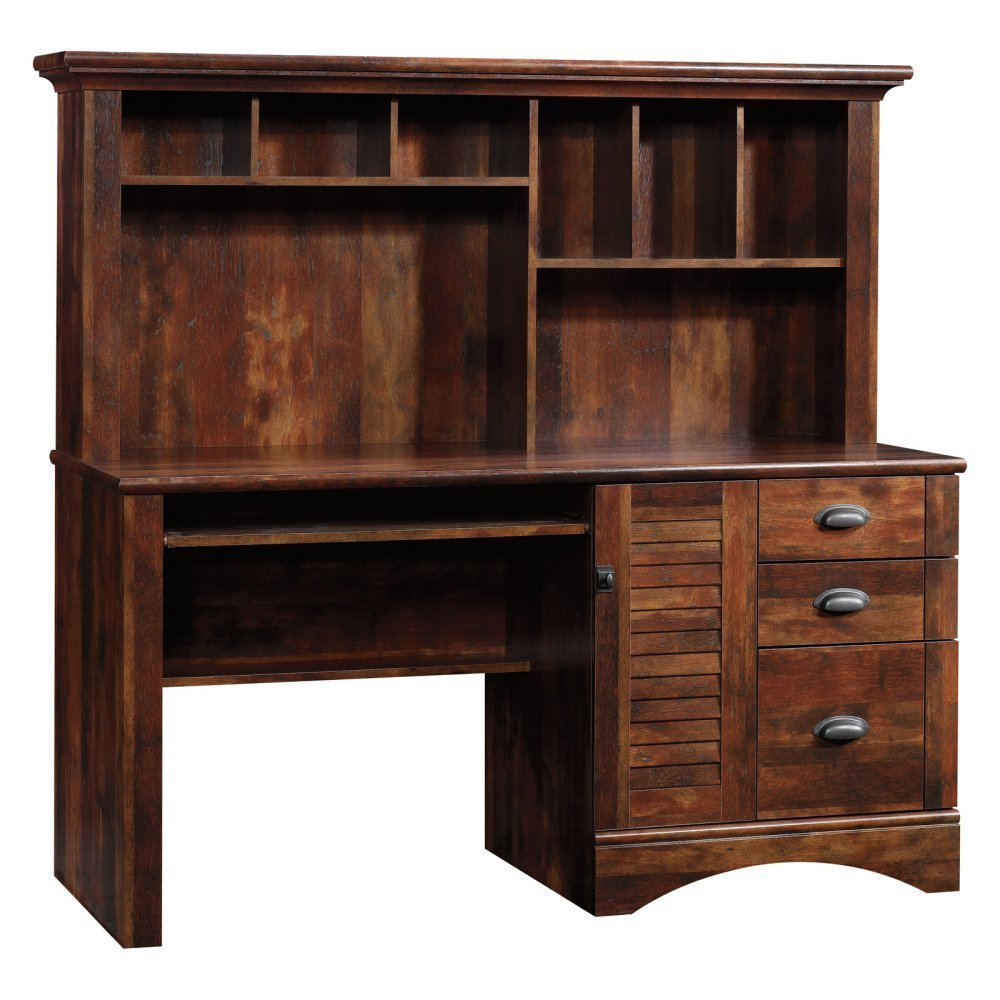 Sauder Harbor View Computer Desk With Hutch Home