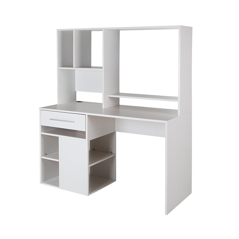 White Computer Desk With Hutch Home Furniture Design