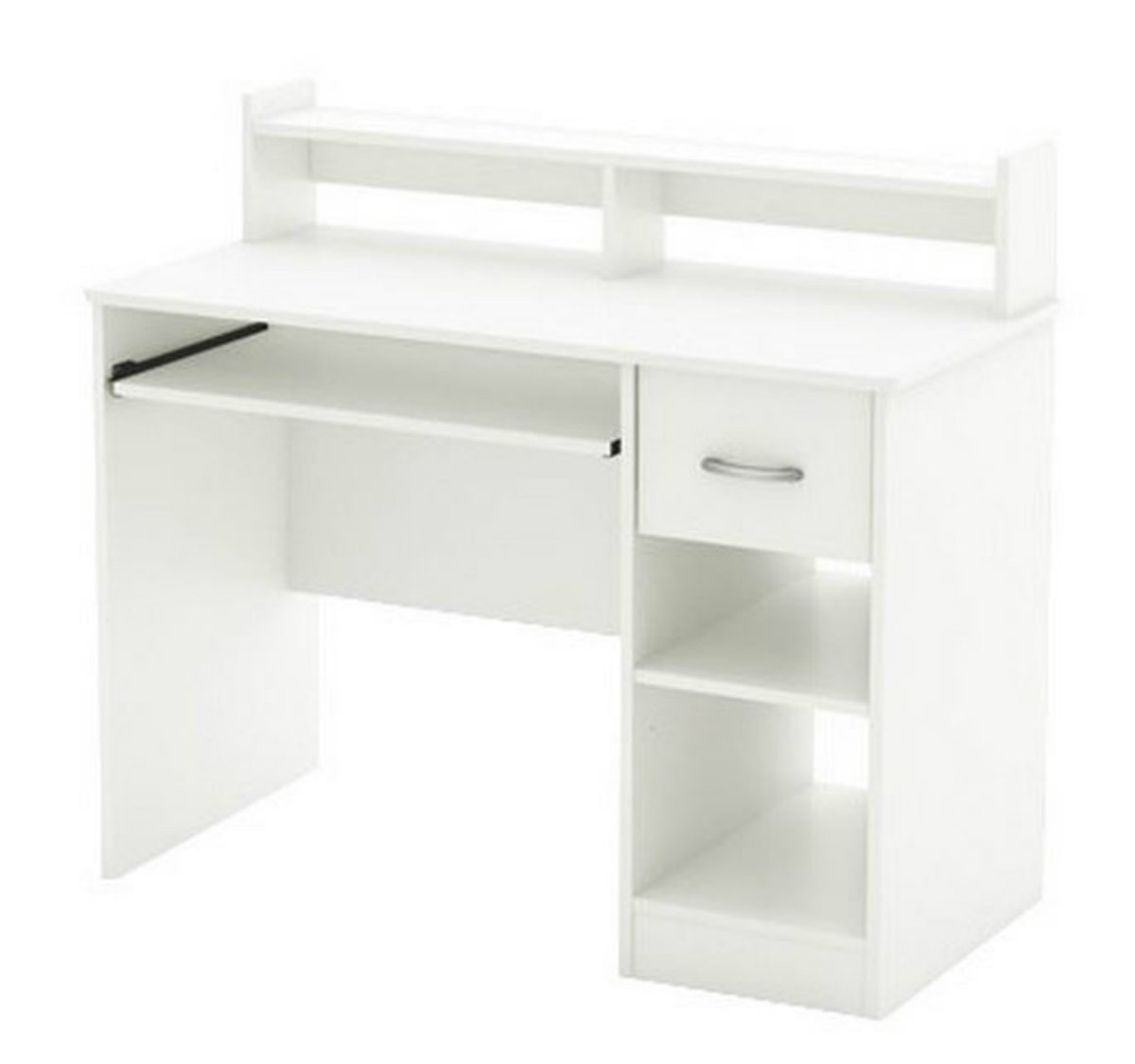 White Desk With Hutch And Drawers Home Furniture Design