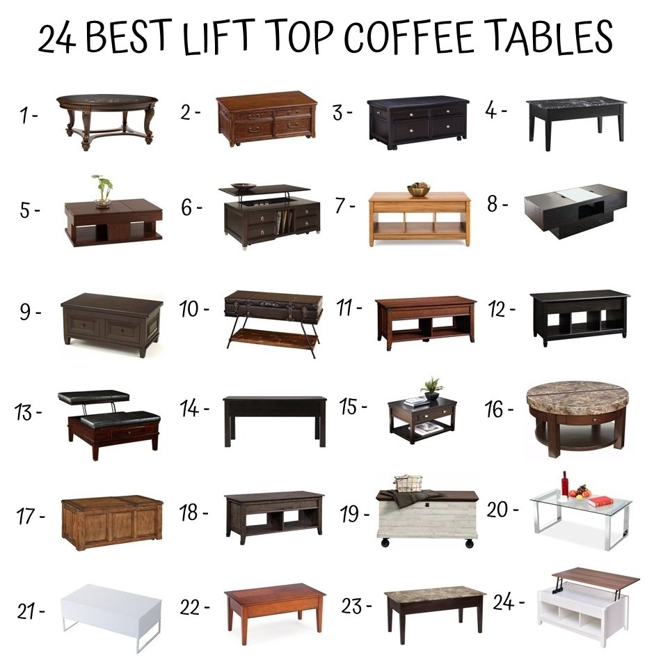 Advantages Of Lift Top Coffee Tables Home Furniture Design