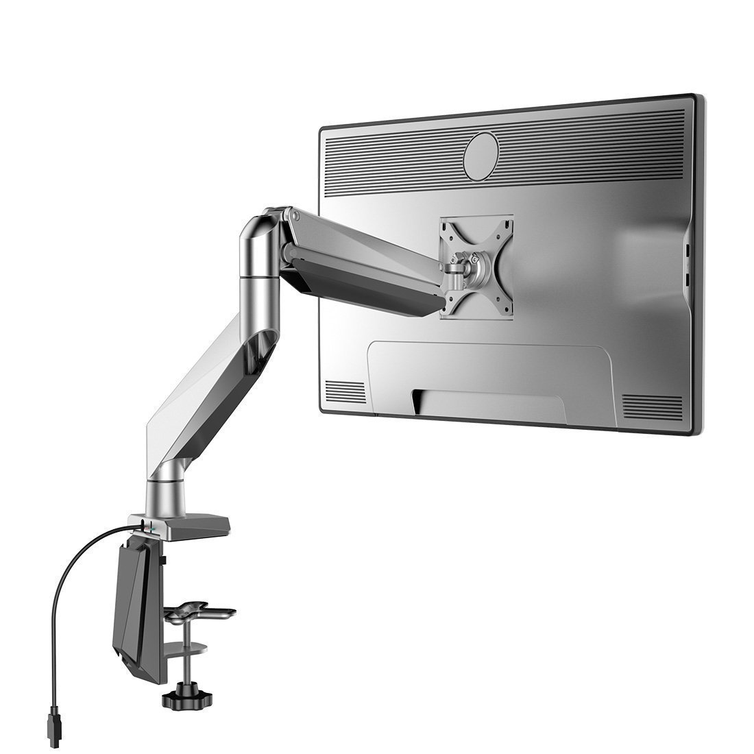 Loctek D7r Swivel Gas Spring Single Lcd Arm Stand Monitor