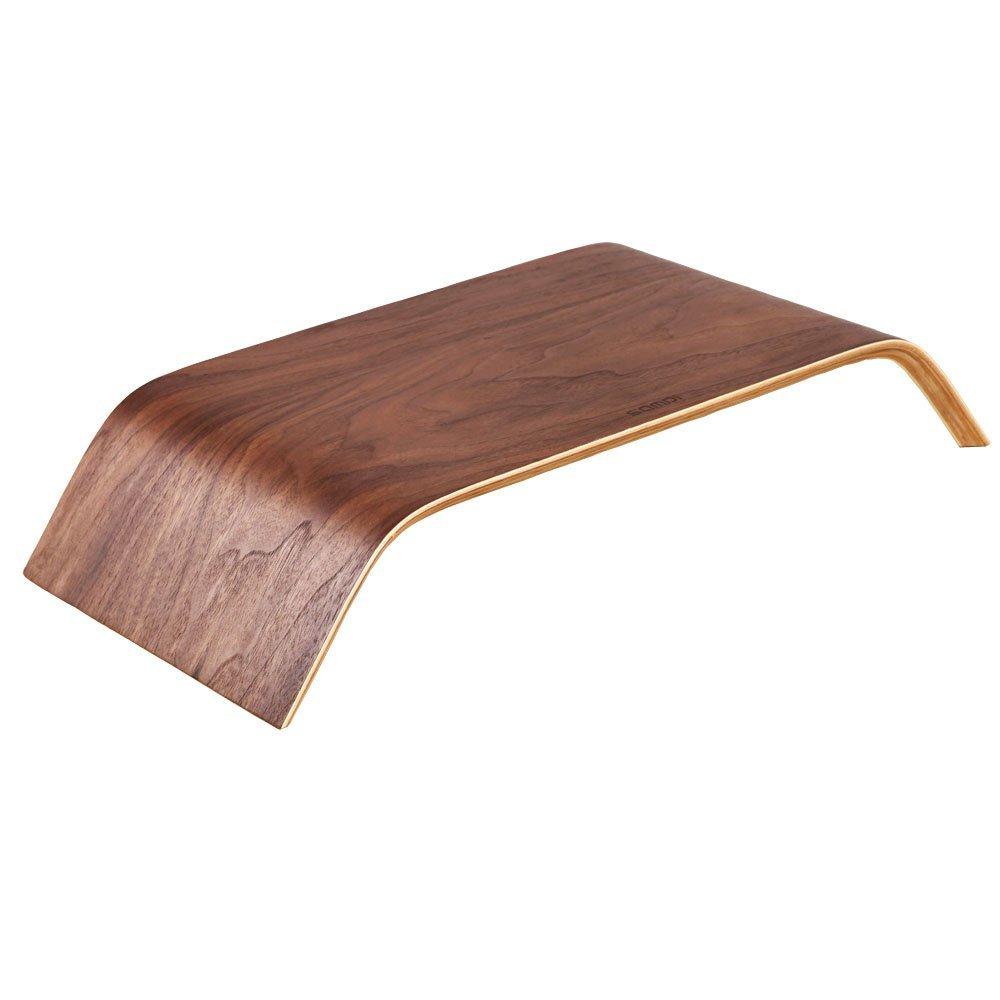 Samdi Universal Desktop Computer Monitor Heighen Wooden Stand Home Furniture Design