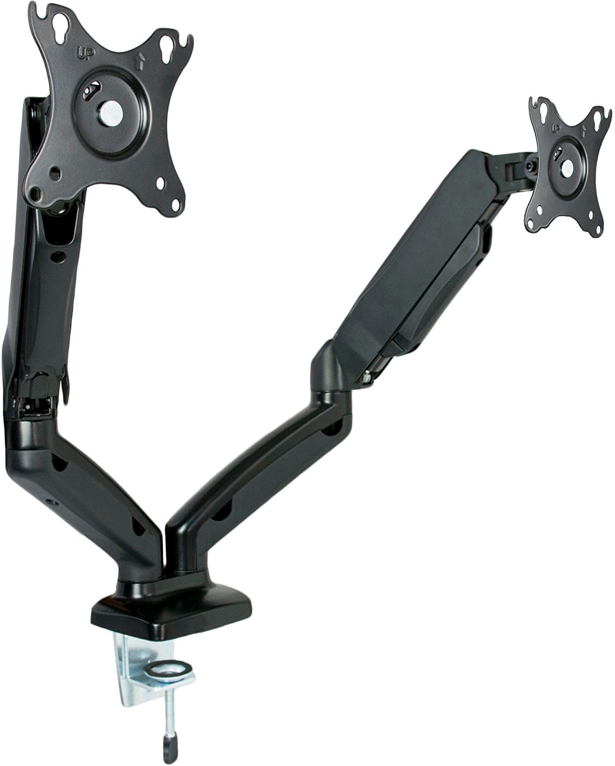 Vivo Dual Monitor Counterbalance Gas Spring Desk Mount