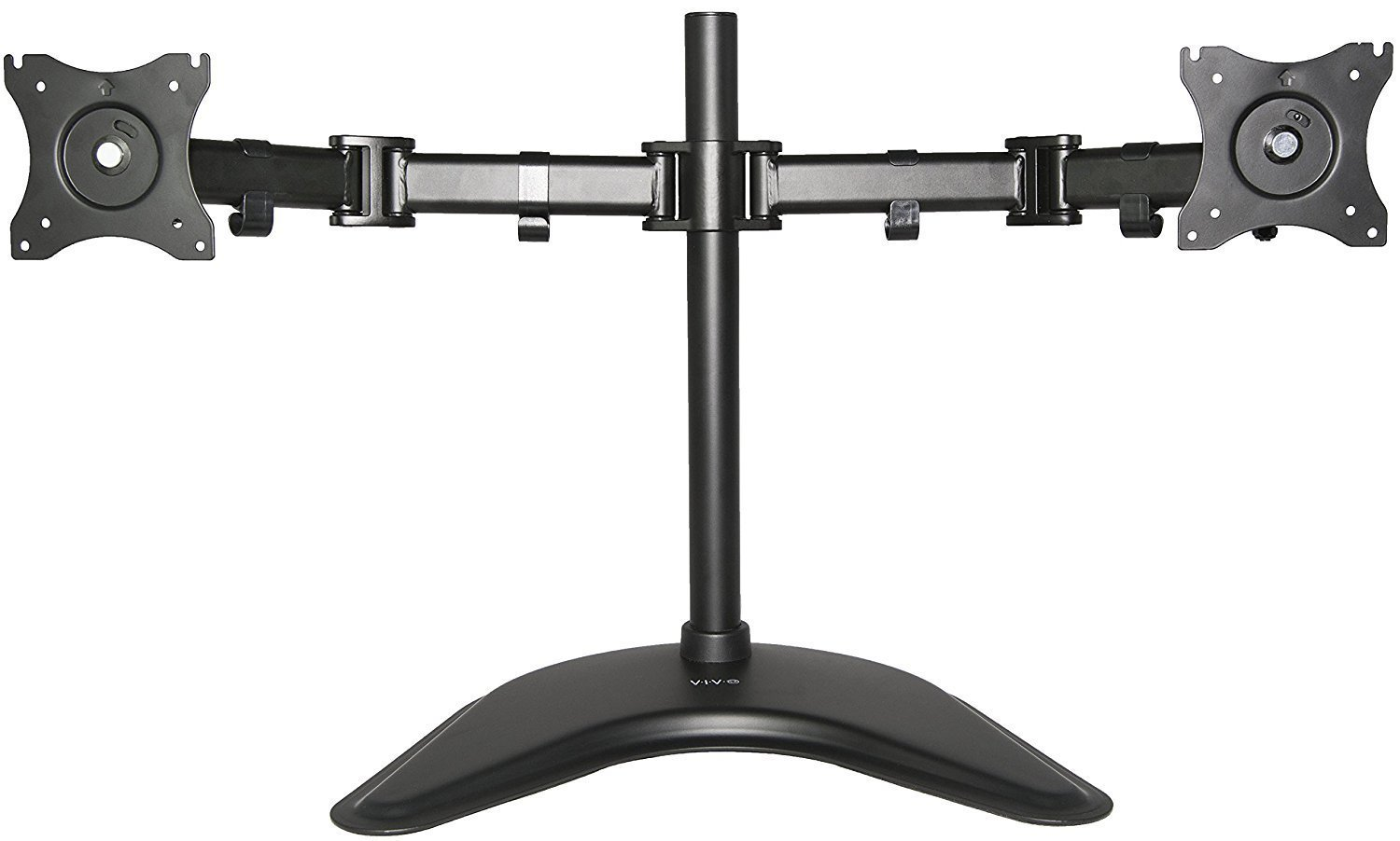 Vivo Dual Monitor Mount Stand Fully Adjustable Desk Home