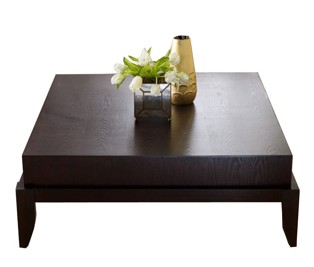 Signature Design By Ashley T628 8 Rollins Square Cocktail: Low Square Coffee Table