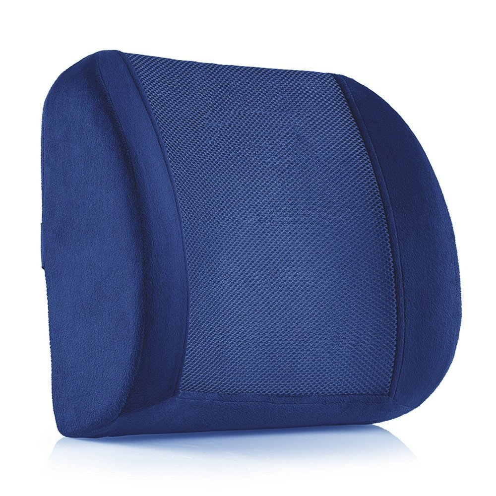 Navy Lumbar Pillow Home Furniture Design