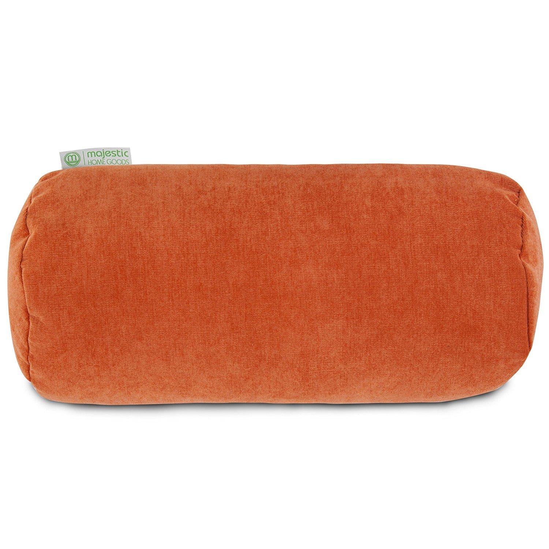 Orange Lumbar Pillow Home Furniture Design