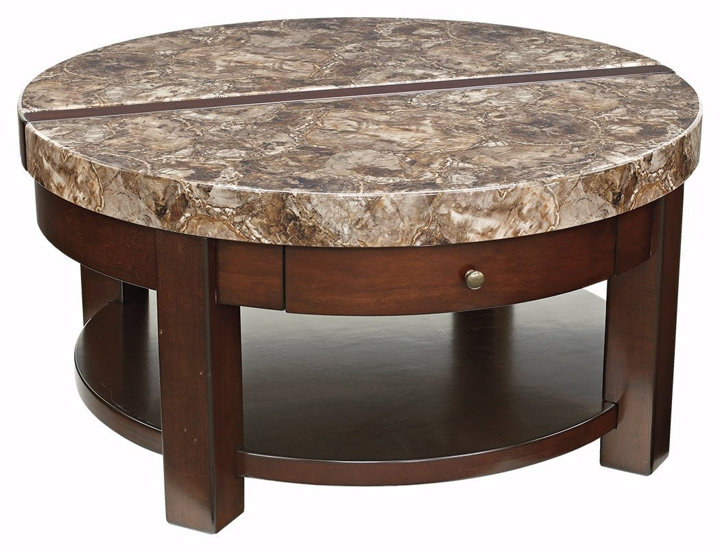 Round Lift Top Coffee Table Home Furniture Design
