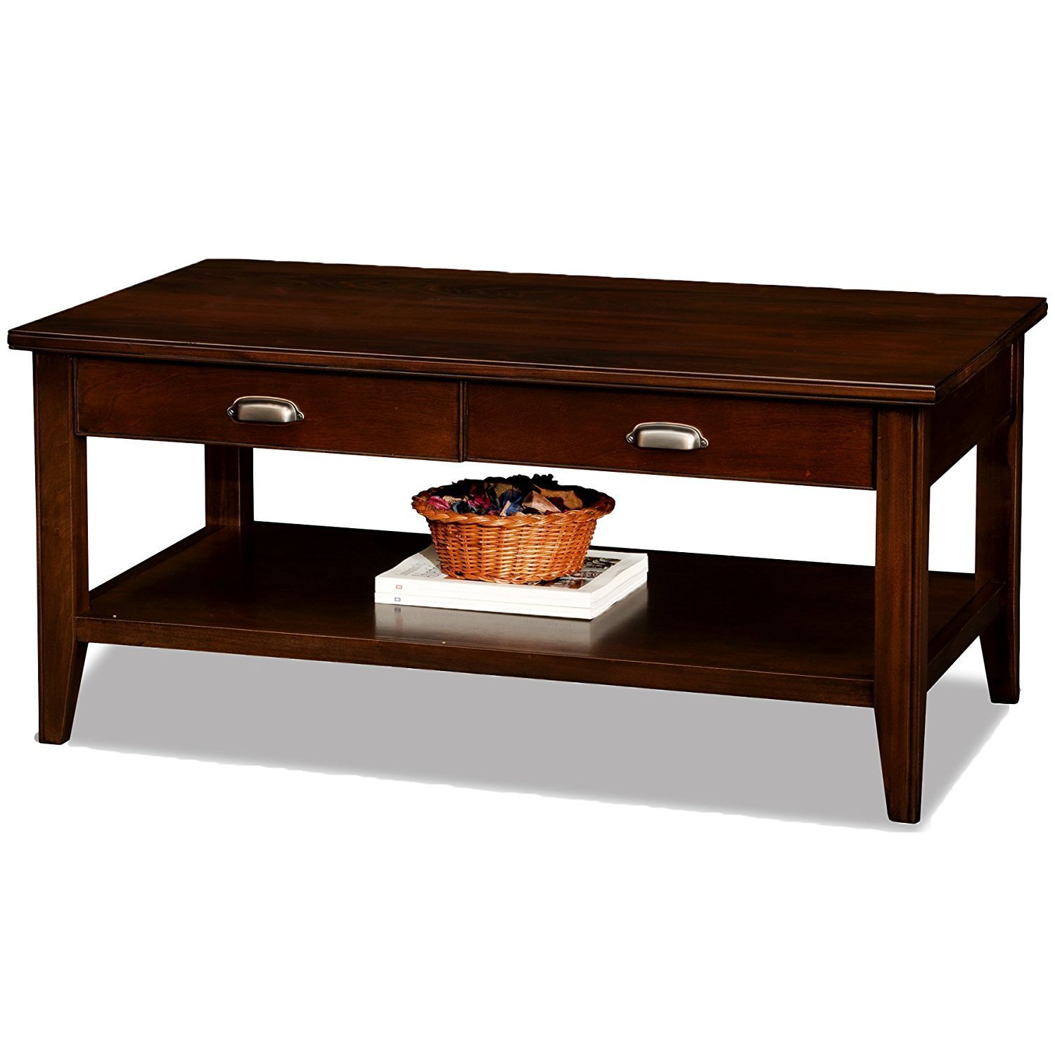 Solid Wood Coffee Table With Storage Home Furniture Design