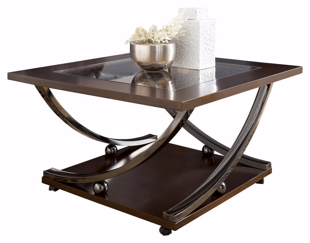 Square Metal Coffee Table Home Furniture Design