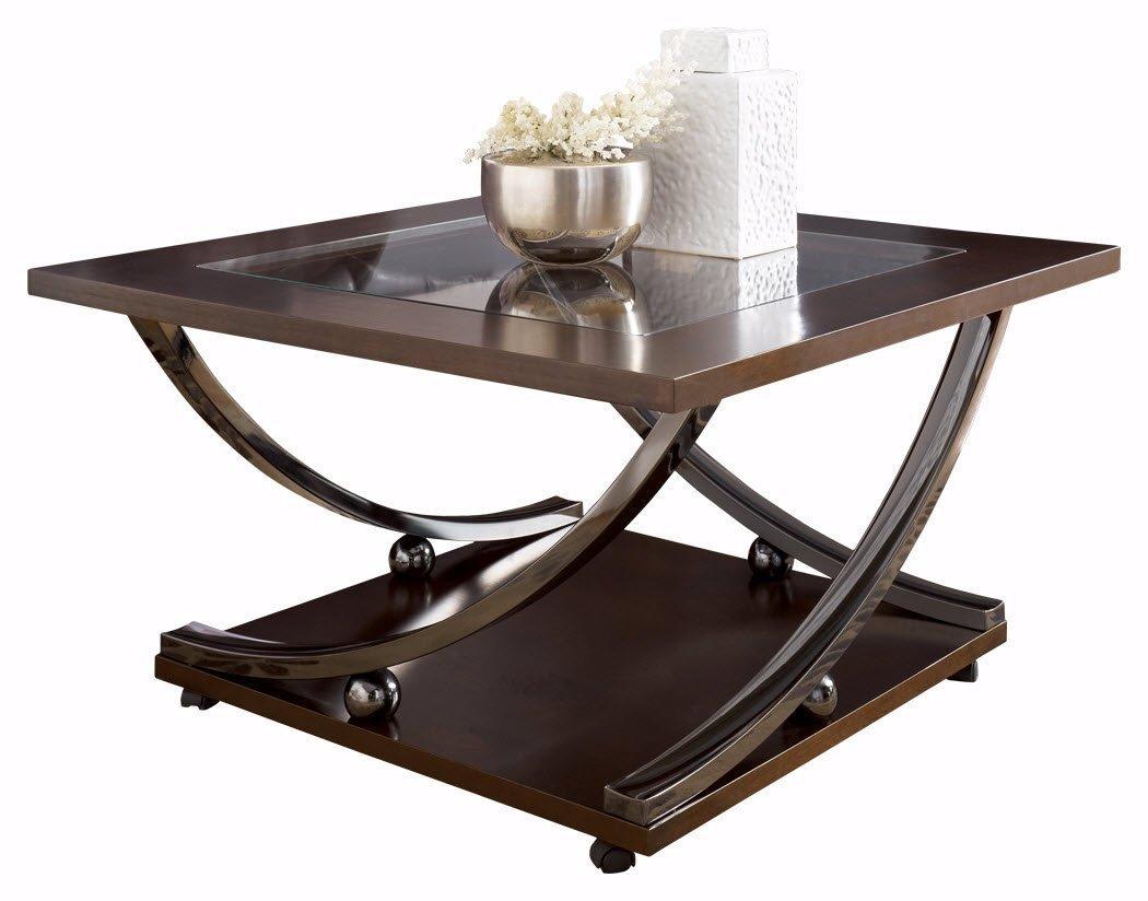 Square metal coffee table home furniture design Metal square coffee table