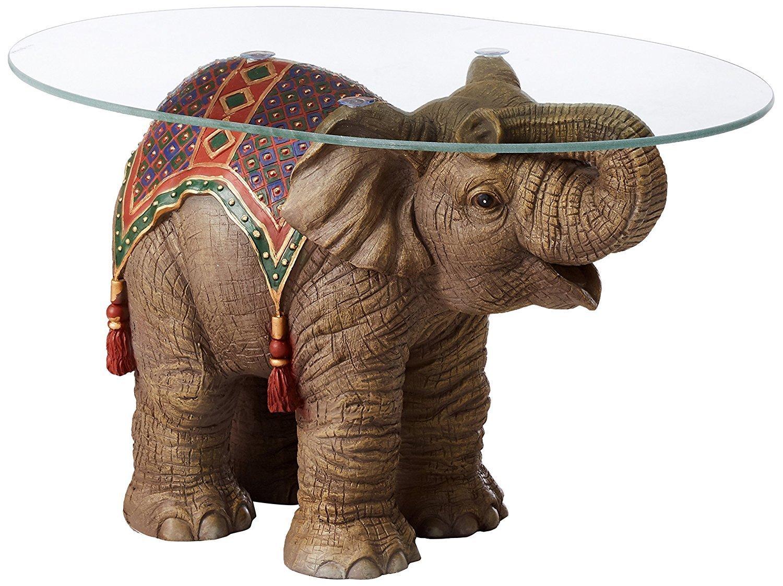 Elephant Glass Coffee Table Home Furniture Design