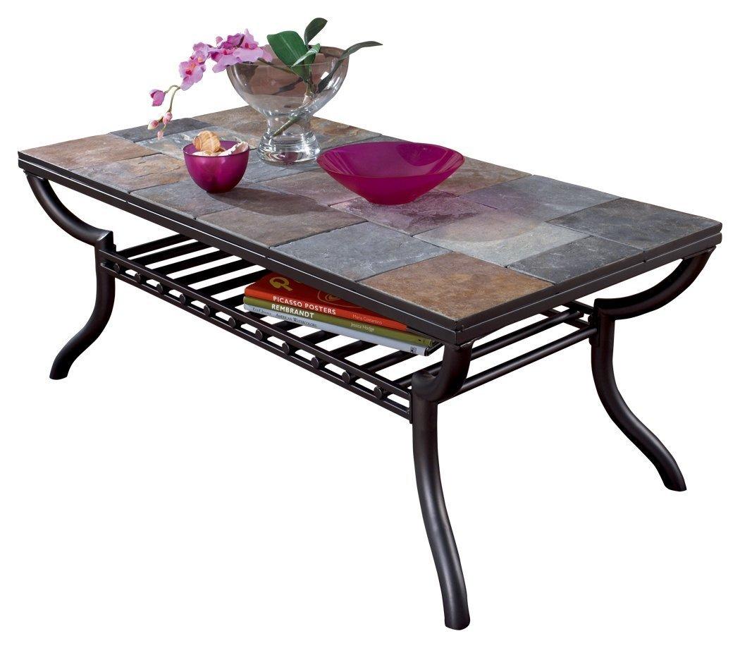 Metal Top Coffee Table Home Furniture Design