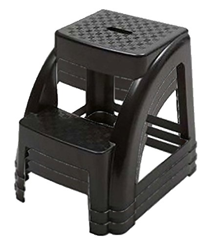 2 Step 300 Pound Capacity Durable Utility Step Stool