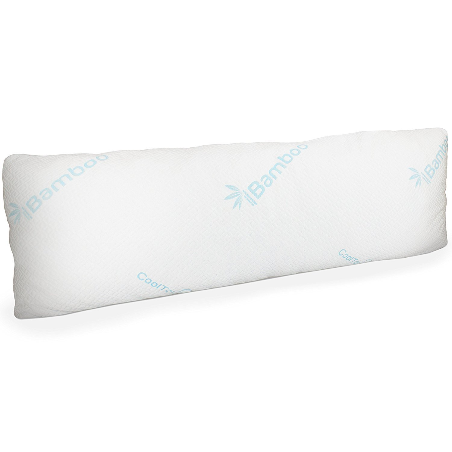 Memory Foam Body Pillow With Bamboo Cover Home Furniture
