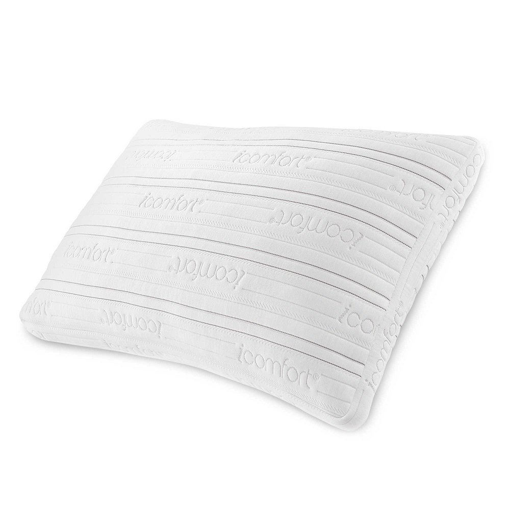Serta Icomfort Scrunch Pillow With Dual Effect Home