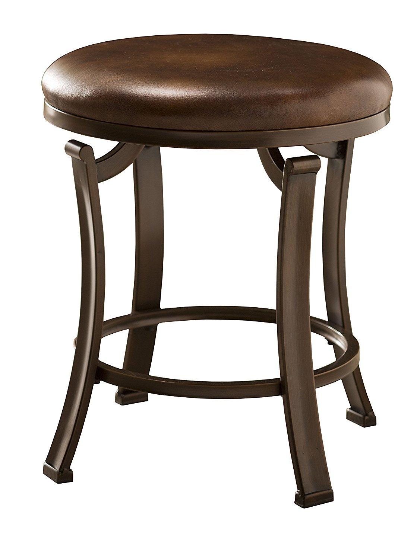 Leather Vanity Stool Home Furniture Design