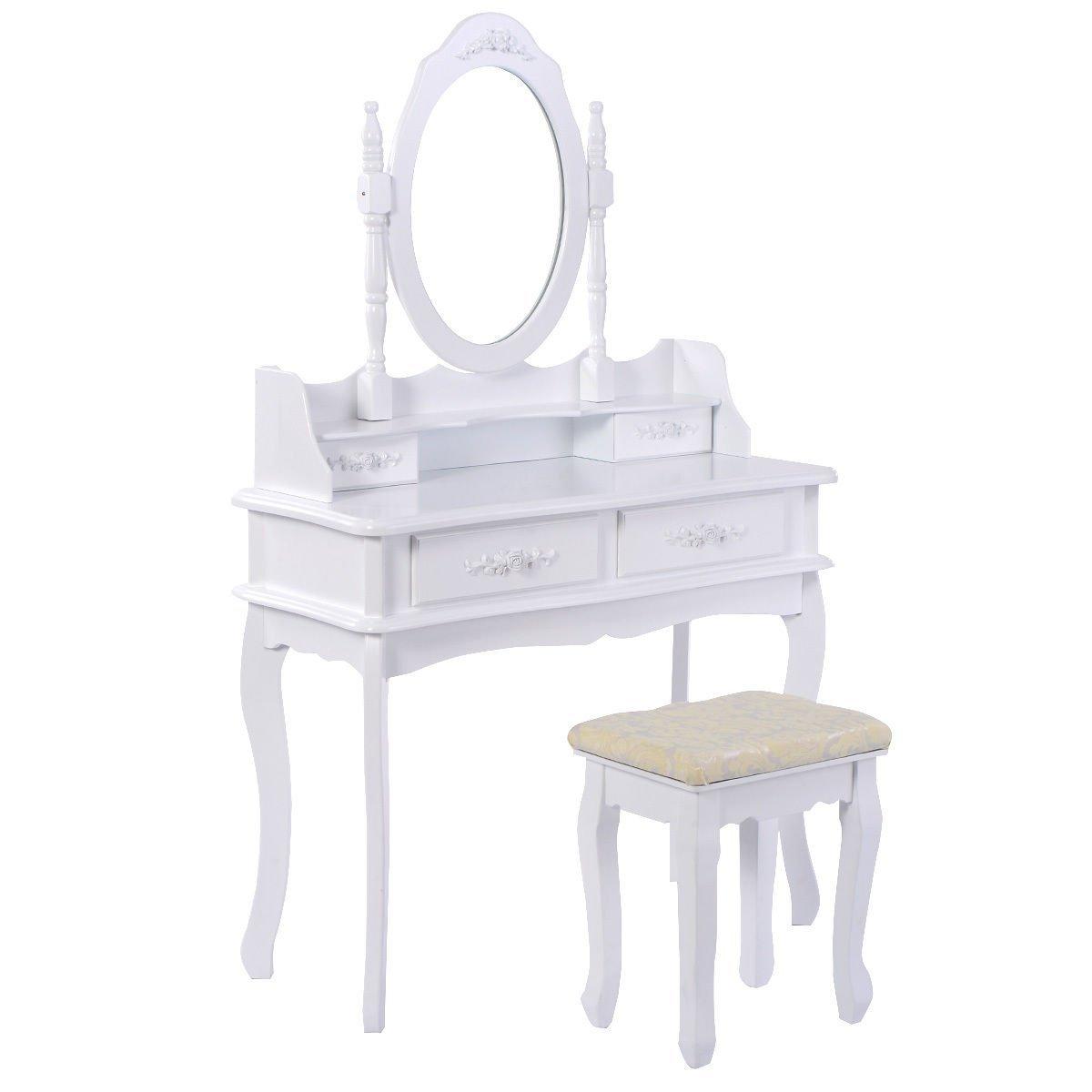 White Bedroom Vanity Set Home Furniture Design