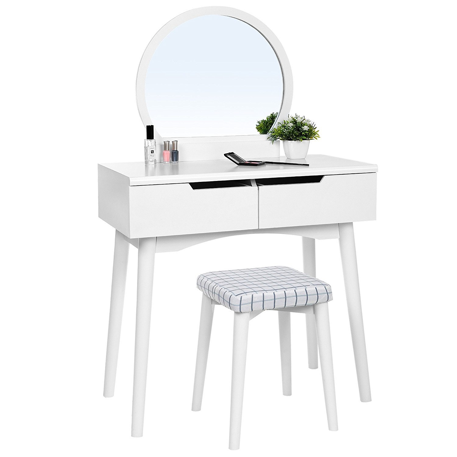 White Bedroom Vanity Home Furniture Design