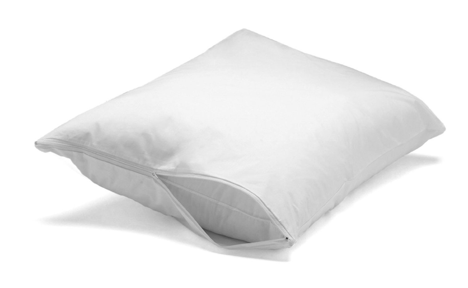 Pillowtex Feather Down Proof 100 Cotton Soft Pillow