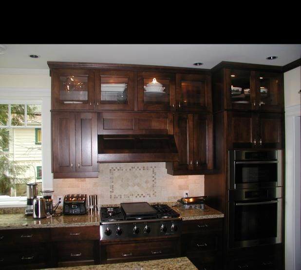 dark walnut kitchen cabinets black walnut kitchen cabinets home furniture design 14491
