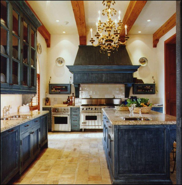 Distressed Black Kitchen Cabinets Home Furniture Design