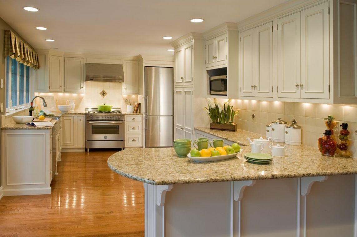 Cream Colored Kitchen Cabinets - Home Furniture Design