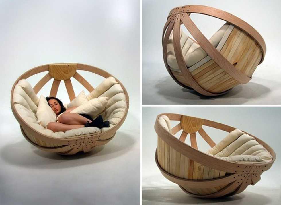 Modern Papasan Chair: Home Furniture Design