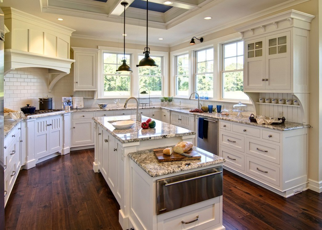 Pictures of White Kitchen Cabinets with Granite ...