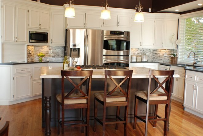 white kitchen cabinets stainless steel appliances white kitchen cabinets with stainless steel appliances 2058