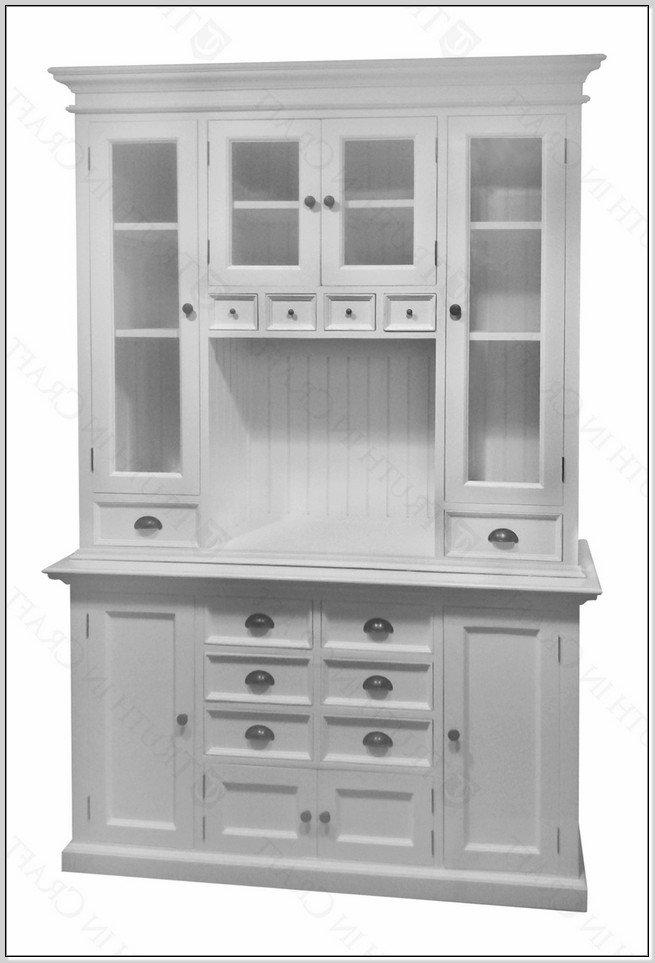 White Kitchen Hutch Cabinet - Home Furniture Design