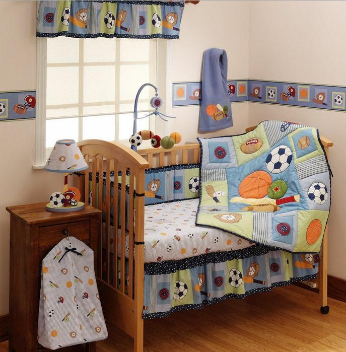 Baby Boy Sports Crib Bedding Sets - Home Furniture Design