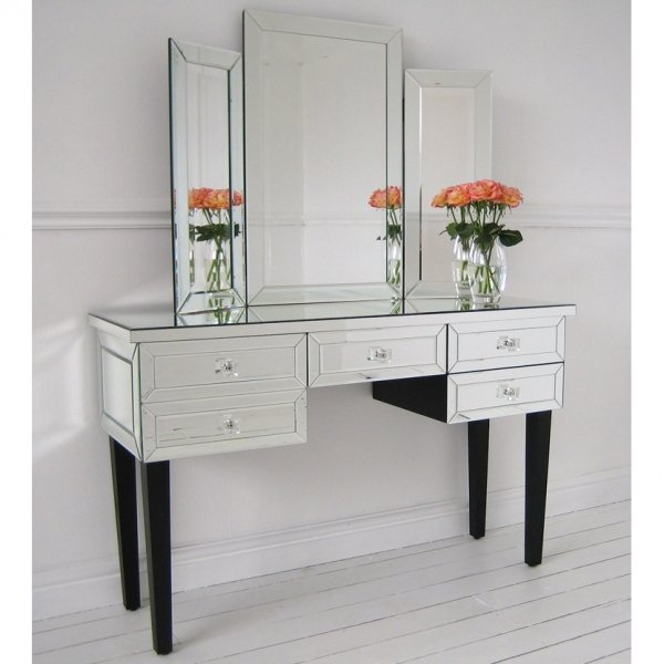 Cheap Mirrored Desk Home Furniture Design