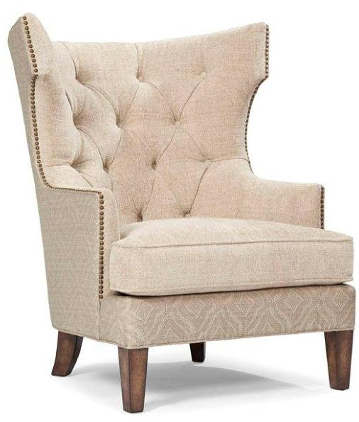 cream wingback armchair cream accent chair home furniture design 13632 | Cream Accent Chair